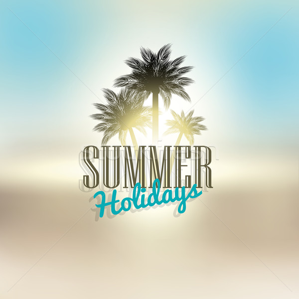 Summer holiday background Stock photo © kjpargeter