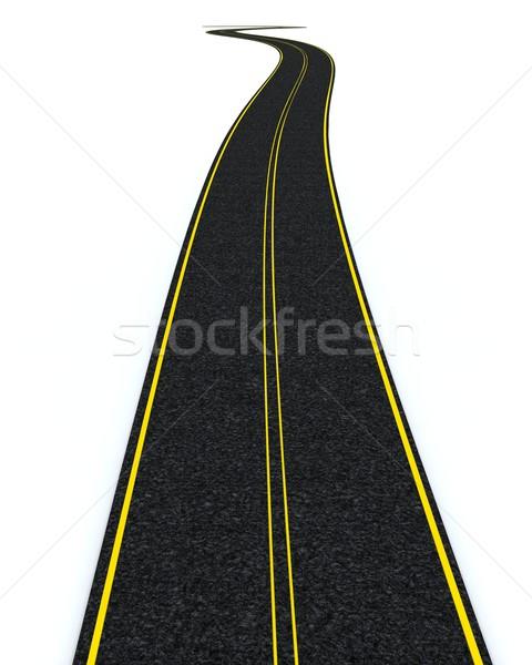 blacktop tarmac road  Stock photo © kjpargeter
