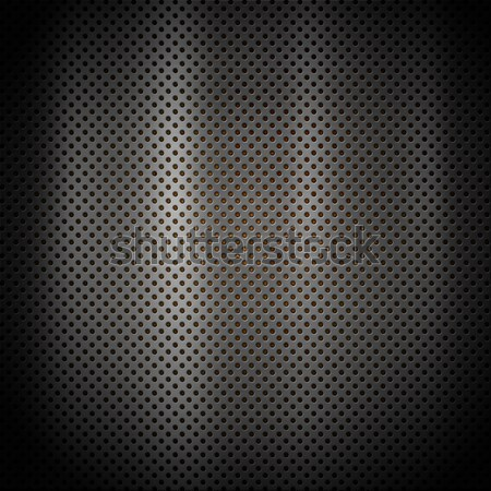 Perforated metal background Stock photo © kjpargeter