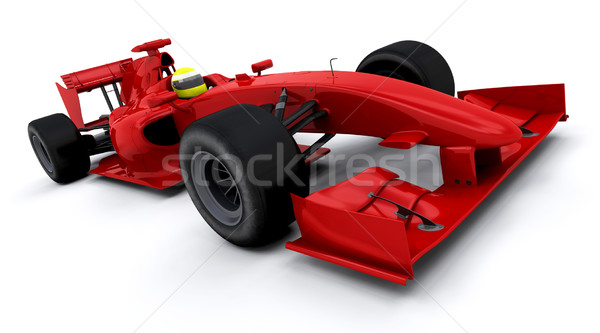 Formula one car Stock photo © kjpargeter