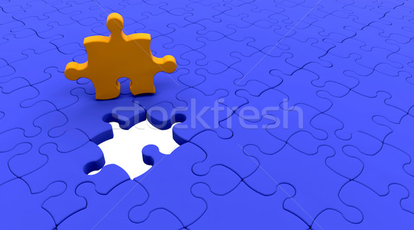 Jigsaw Puzzle Stock photo © kjpargeter