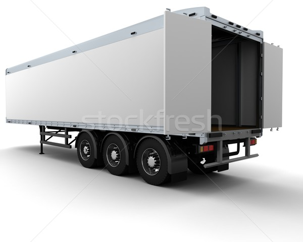 freight trailer Stock photo © kjpargeter