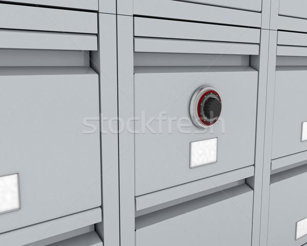 filing acabinate Stock photo © kjpargeter