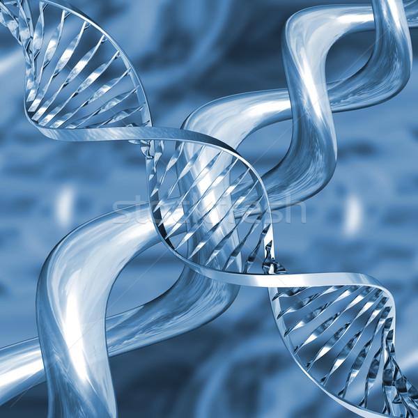 DNA soyut tıbbi teknoloji tıp bilim Stok fotoğraf © kjpargeter