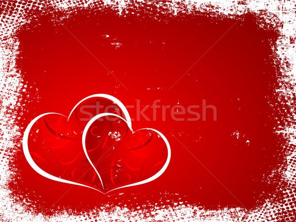Nem leírás szív háttér folt romantikus Stock fotó © kjpargeter