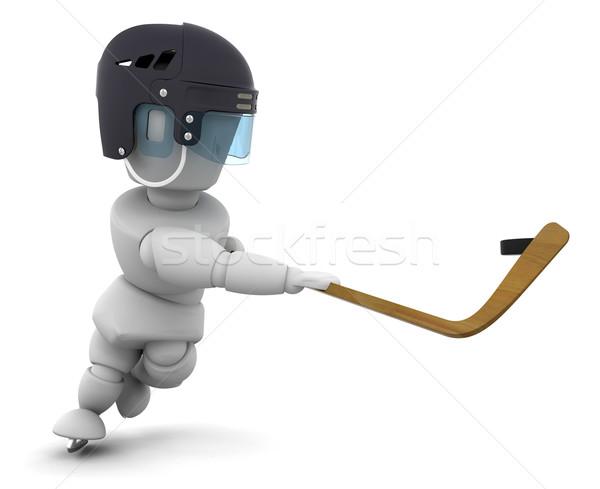 Ice hockey Stock photo © kjpargeter