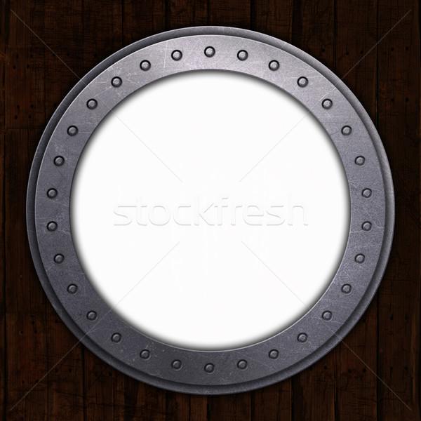 порта дыра белый пространстве 3d визуализации аннотация Сток-фото © kjpargeter