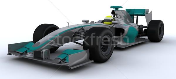 F1 Racing Car Stock photo © kjpargeter