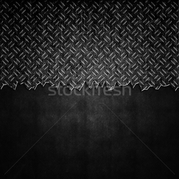 треснувший металл темно конкретные нуля Гранж Сток-фото © kjpargeter