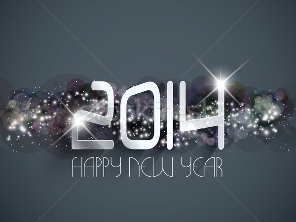 Happy New year background Stock photo © kjpargeter