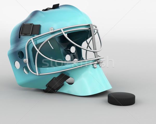 ice hockey equipment Stock photo © kjpargeter