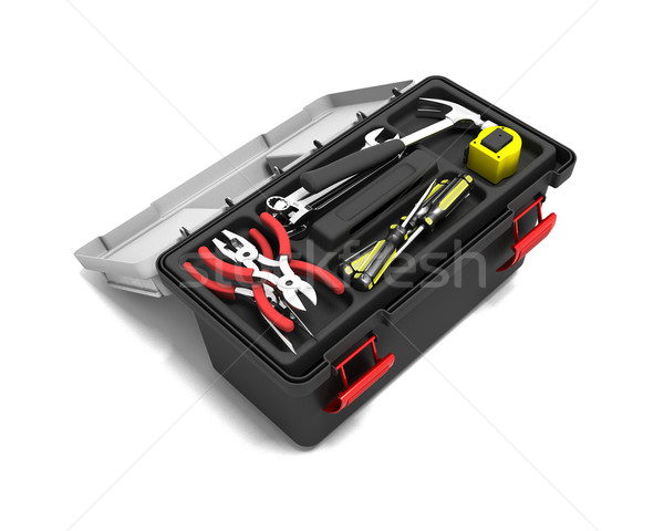 Toolbox Stock photo © kjpargeter