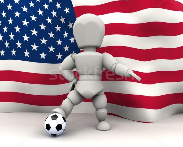 world cup football teams 2010 Stock photo © kjpargeter