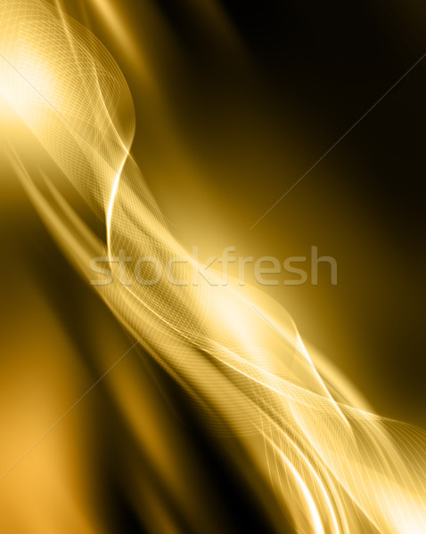 Abstract gold Stock photo © kjpargeter
