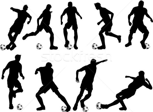 Сток-фото: футбола · различный · человека · спорт