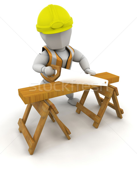 Stock photo: Construction Worker