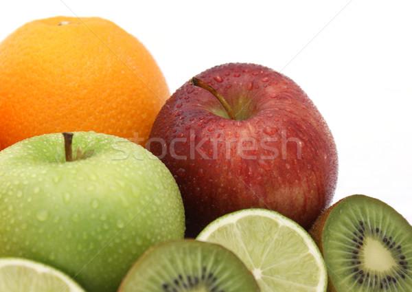 Fresh fruit Stock photo © kjpargeter