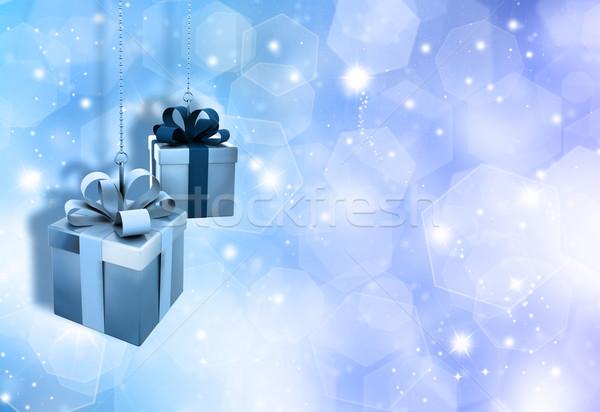 Christmas gifts Stock photo © kjpargeter