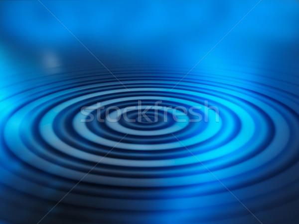 Water abstract achtergrond Blauw digitale vloeibare Stockfoto © kjpargeter