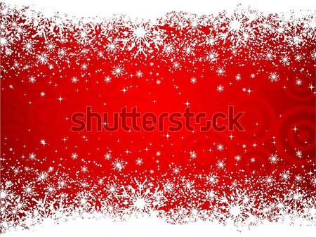 Сток-фото: снежинка · снега · фон · зима · Рождества · холодно