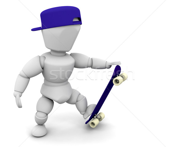 skateboarder Stock photo © kjpargeter