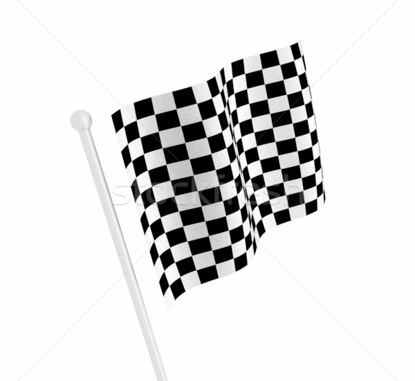 Checkered flag Stock photo © kjpargeter