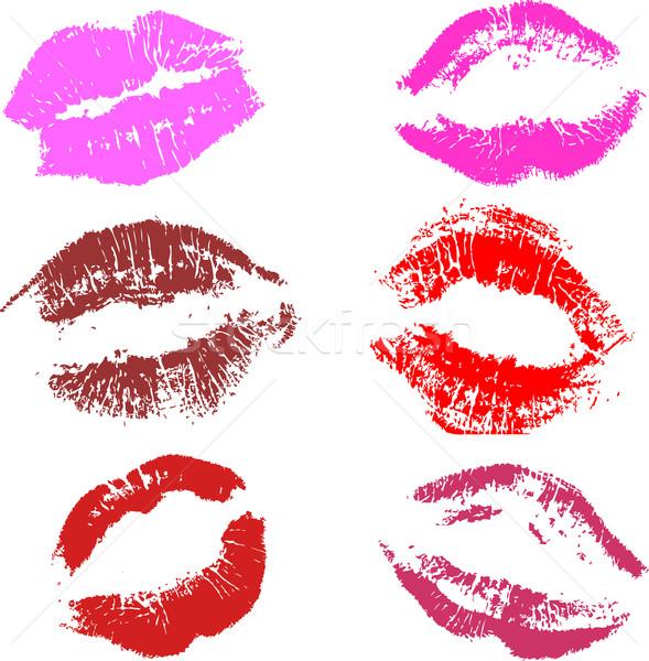 kisses  Stock photo © kjpargeter