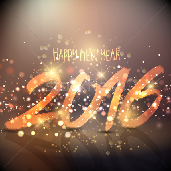 stock photo stock vector illustration sparkly background design for the happy new year