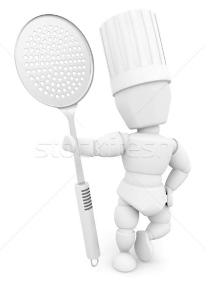 Stock photo: Chef