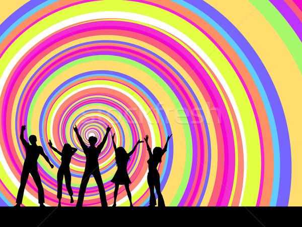 Сток-фото: вечеринка · люди · танцы · девушки · человека