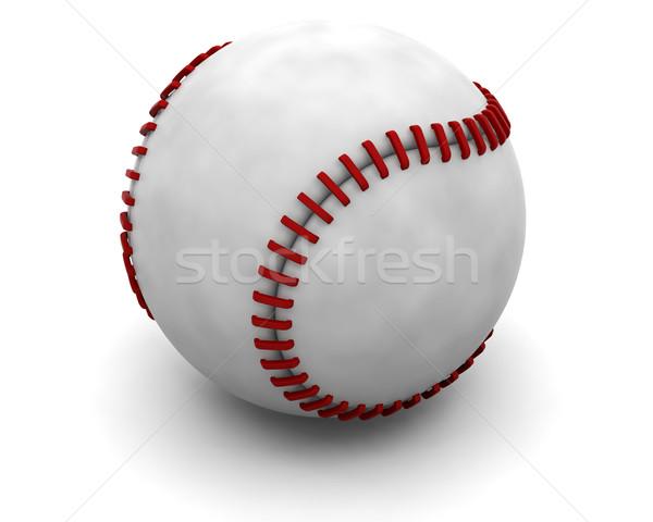 Beisebol objeto 3D Foto stock © kjpargeter