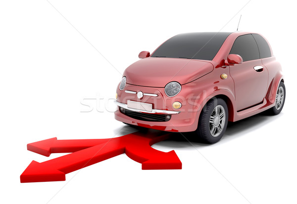 city car directions Stock photo © kjpargeter