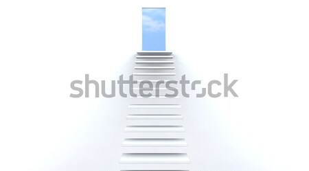 stairs to heaven Stock photo © kjpargeter