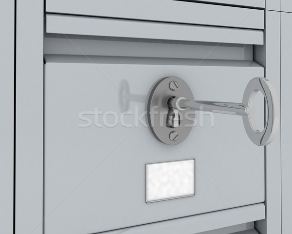 Filing Cabinet Security Stock photo © kjpargeter