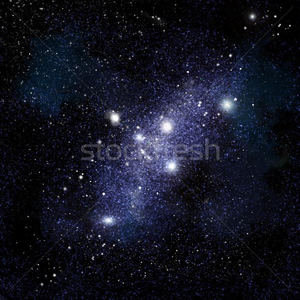 Starfield background Stock photo © kjpargeter