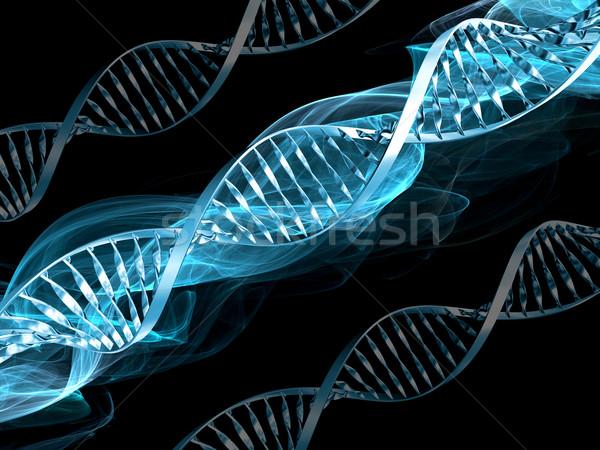 Dna abstract medische technologie wetenschap cel Stockfoto © kjpargeter