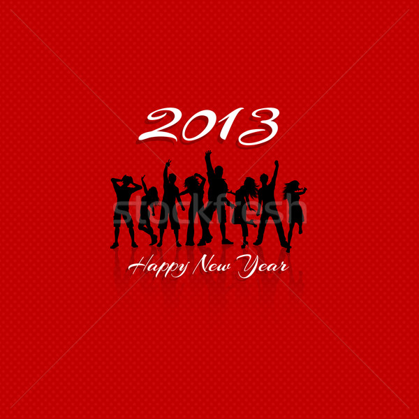 New Year Party background Stock photo © kjpargeter