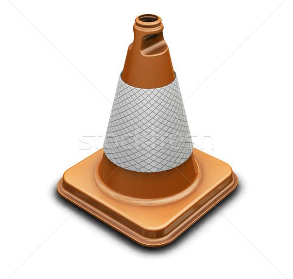 Traffic cone Stock photo © kjpargeter
