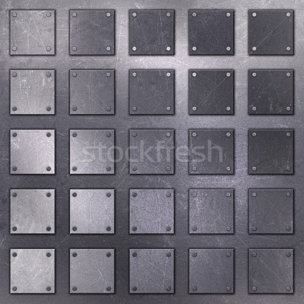 Stock photo: Scratched metal background