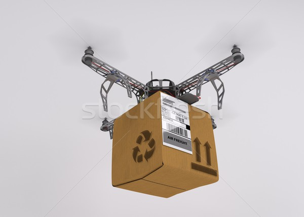 Quadcopter drone Stock photo © kjpargeter