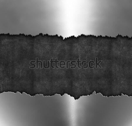 Kırık Metal grunge dizayn Stok fotoğraf © kjpargeter