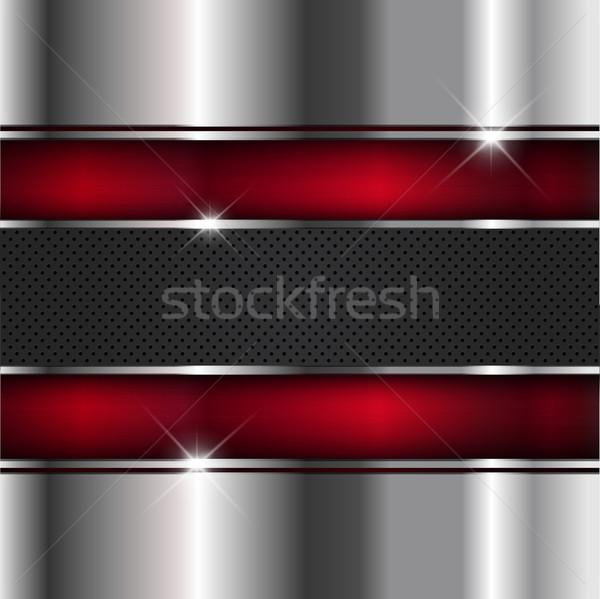 Metallic background Stock photo © kjpargeter