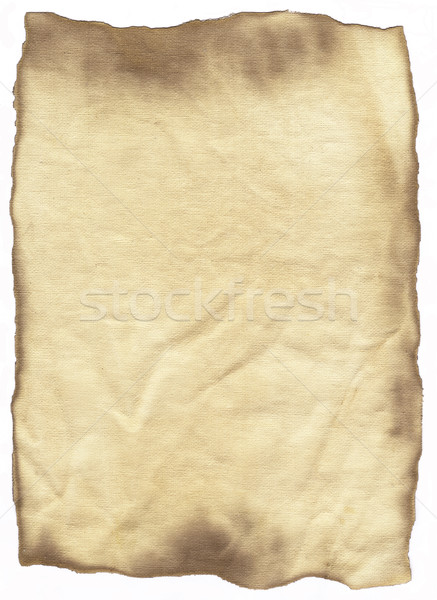 Burnt paper Stock photo © kjpargeter
