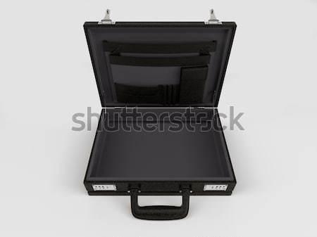изолированный портфель белый 3d визуализации бизнеса рабочих Сток-фото © kjpargeter
