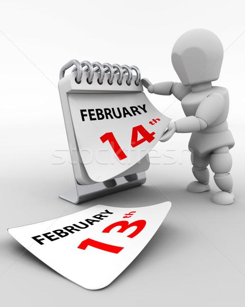 valentines day Stock photo © kjpargeter