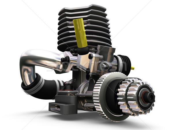 Car engine Stock photo © kjpargeter