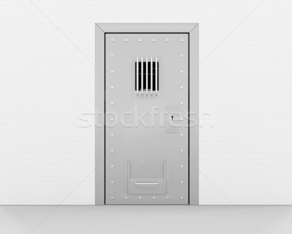 Prison door Stock photo © kjpargeter