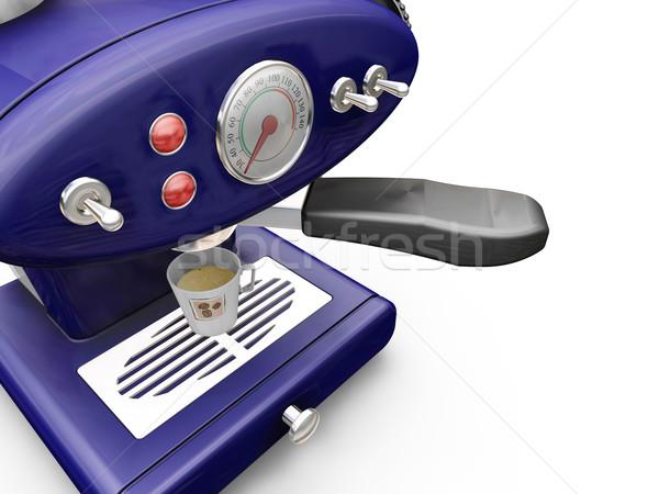Coffee machine Stock photo © kjpargeter