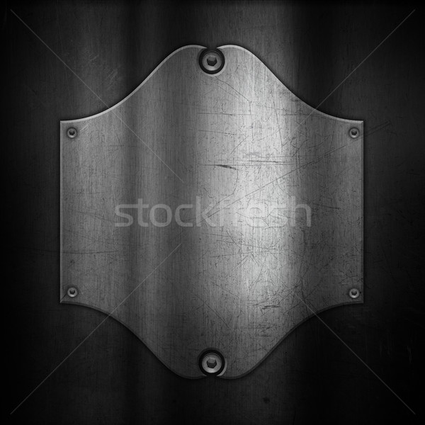 Scratched metallic background Stock photo © kjpargeter