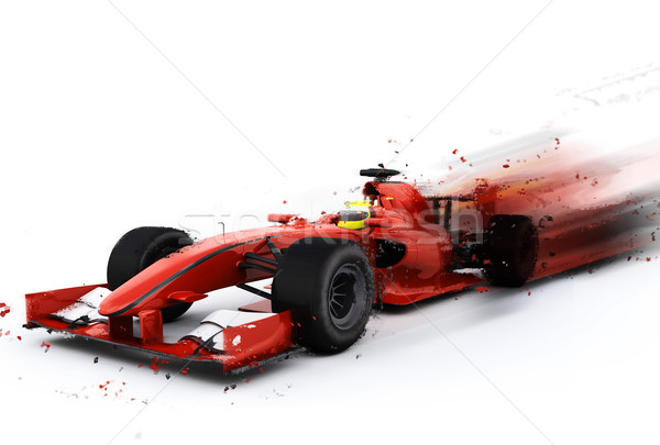 F1 общий Racing автомобилей специальный эффект Сток-фото © kjpargeter
